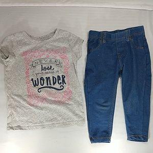 Cat & Jack Matching Sets - Cat&Jack/Garanimals shirts/pants/shirts bundle
